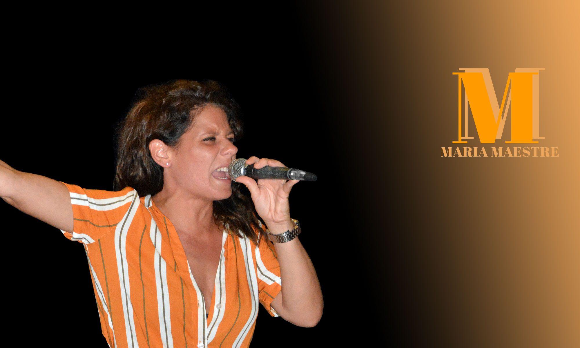 Web oficial de Maria Maestre